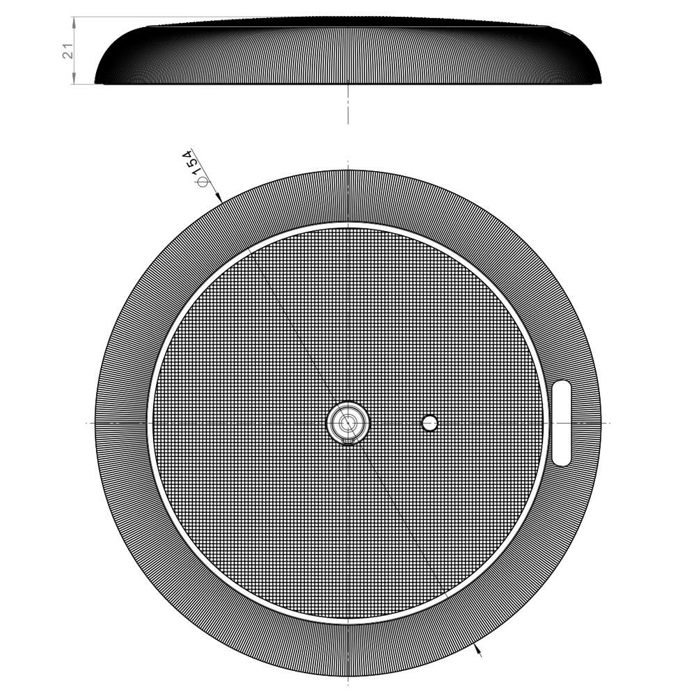 ronde laadruimteverlichting