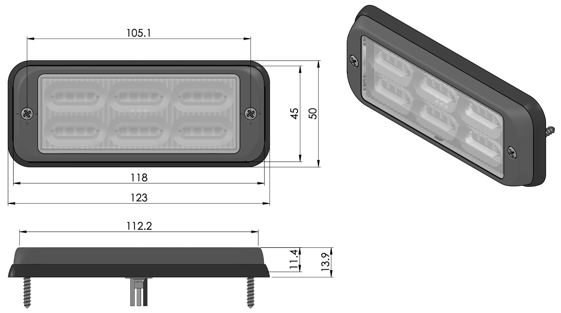 SIRIUS LED flitser